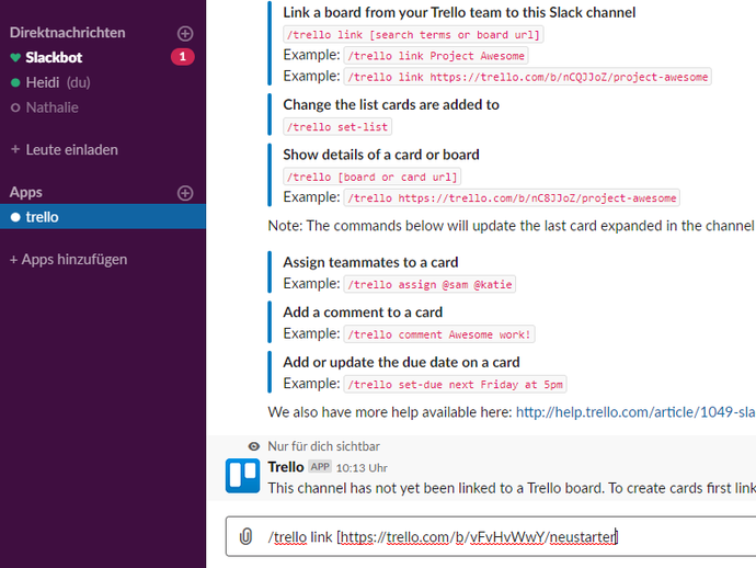 Slack_5.3 Trello Start Board